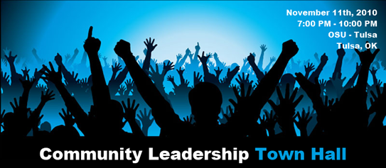 Community Leadership Town Hall - Tulsa